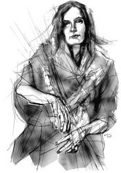 Jenny Sorrenti ritratta da Francesco Ardizzone