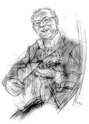 Mario Maglione nel disegno di Francesco Ardizzone