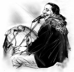 Marcello Colasurdo ritratto da Francesco Ardizzone