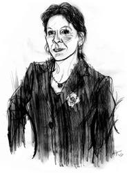 Lia Rumma nel ritratto di Francesco Ardizzone