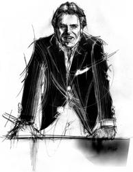 Lino Ferrara nel ritratto di Francesco Ardizzone