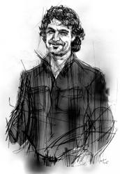 Andrea Renzi nel ritratto di Francesco Ardizzone