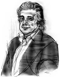 Bruno Galluccio nel ritratto di Francesco Ardizzone
