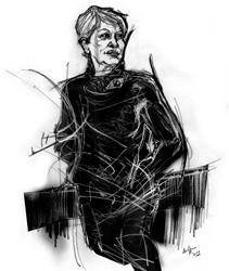 Maria Pia Incutti nel ritratto di Francesco Ardizzone