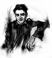 Mario Spada nel ritratto di Francesco Ardizzone