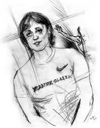 Antonietta Di Martino nel ritratto di Francesco Ardizzone