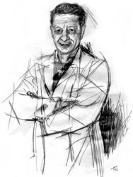 Vincenzo Montrone nel ritratto di Francesco Ardizzone