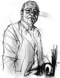 Antonio Loffredo nel ritratto di Francesco Ardizzone