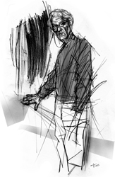 Roberto Ventrella nel ritratto di Francesco Ardizzone