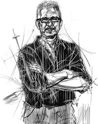 Aldo Zappalà nel ritratto di Francesco Ardizzone