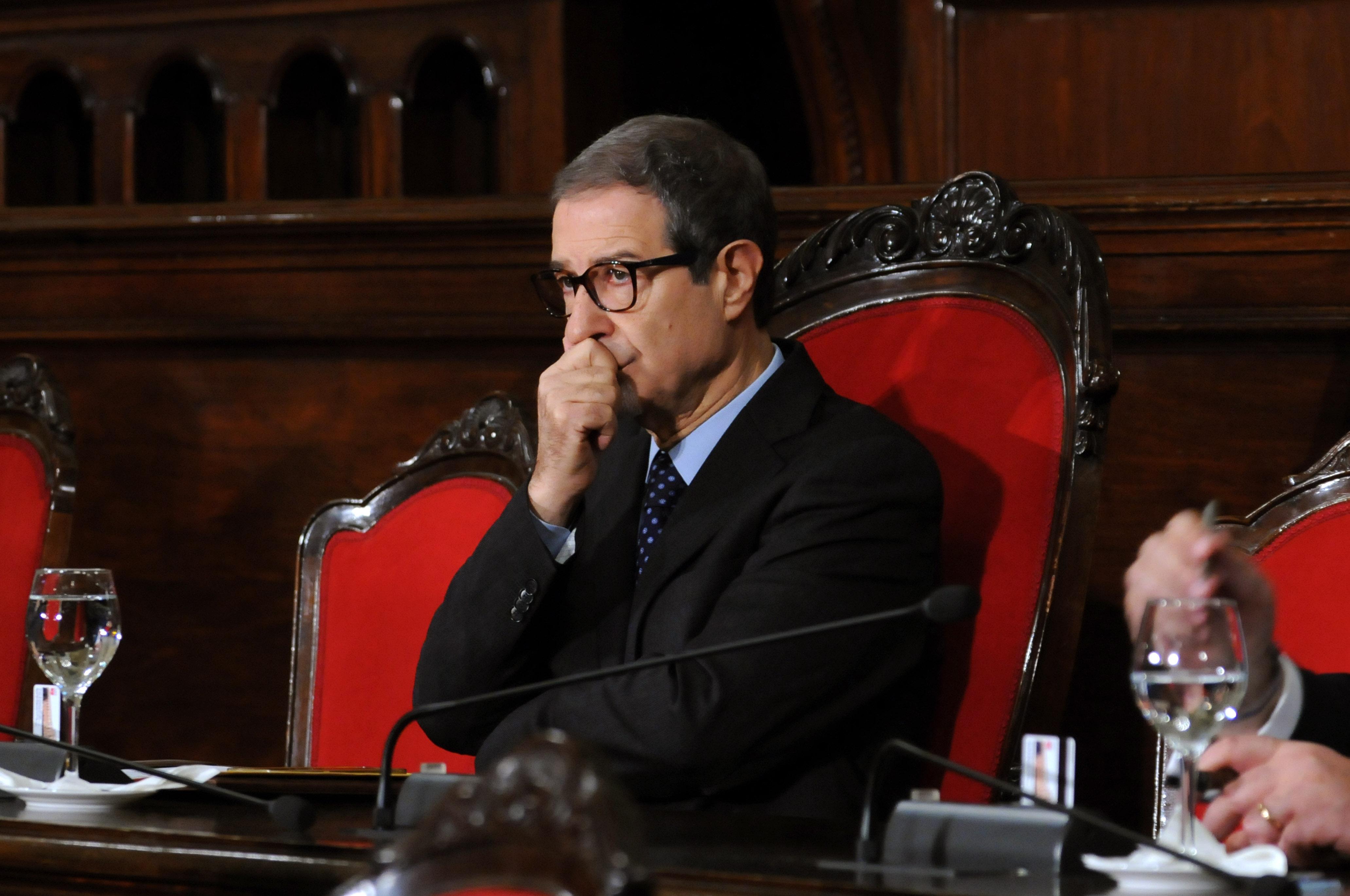 28-03-2018 Palermo Il governatore Nello Musumeci.Mike Palazzotto