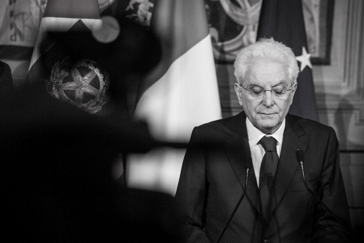 Dichiarazioni del Presidente della Repubblica Sergio Mattarella sulla crisi di Governo