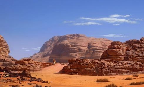 desert-wandering