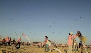 Gli aquiloni di carta nel cielo di Gaza