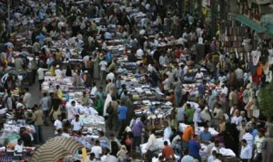 Un mercato del Cairo