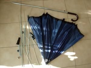Ombrello - materiale recuperato 01