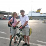 Riva Traiana a Trieste: imbarco serale