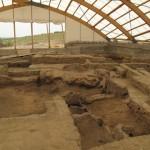 La copedrtura degli scavi