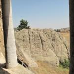 4 vista da una tomba rupestre