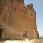 vista della tomba di Mida