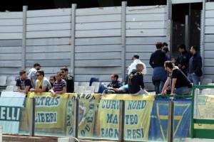 Tifosi parmigiani a Cagliari