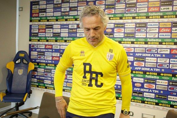 parma Calcio, conferenza stampa al centro sportivo di Collechio del Parma Club