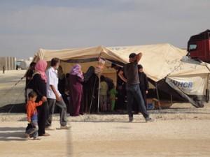 Campo rifugiati di Za'atri Giordania
