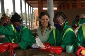 volontaria in Burkina