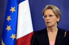 Il ministro Michèke Alliot-Marie