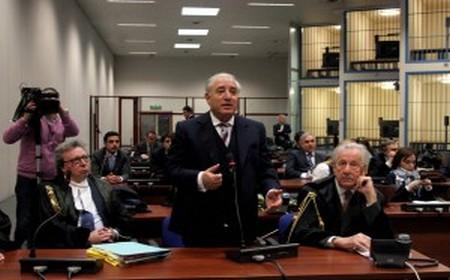 Marcello Dell'Utri interviene ad un'udienza del suo processo