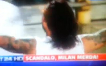 "Il titolo recita: ""Scandalo, Milan merda!"""