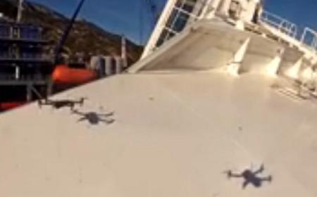 Ecco i due droni in azione