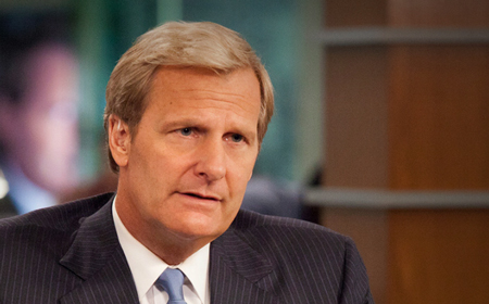 L'attore Jeff Daniels interpreta Will McAvoy