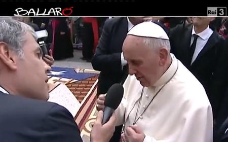 """Papa Francesco a """"Ballarò"""" (ottobre 2013)"""