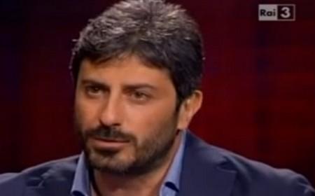 """Roberto Fico ospite di Fazio a """"Che tempo che fa"""" (6 ottobre 2013)"""