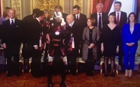 Ecco il robot tra i nostri ministri
