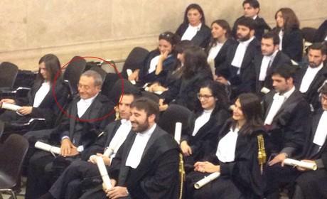 Antonio Catricalà giura come avvocato