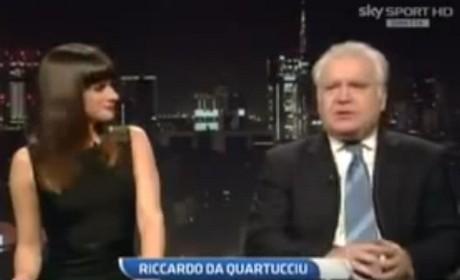 Federica Lodi e Mario Sconcerti in diretta a SkySport