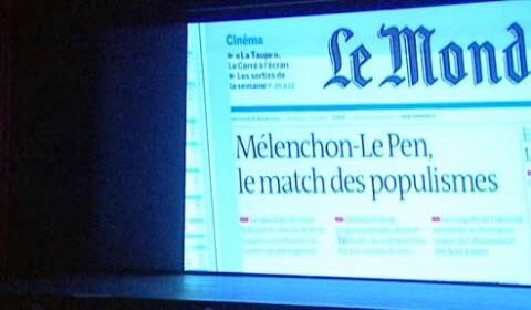 Il titolo di Le Monde contestato