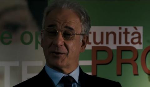 """Toni Servillo in """"Viva la libertà """""""