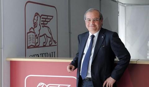 Raffaele Agrusti, ex Generali, è il nuovo presidente di Rai Way (Foto Ansa)