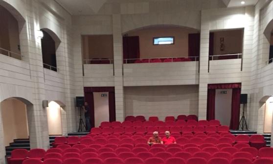 Teatro Tempio a Militello, sede delle proiezioni