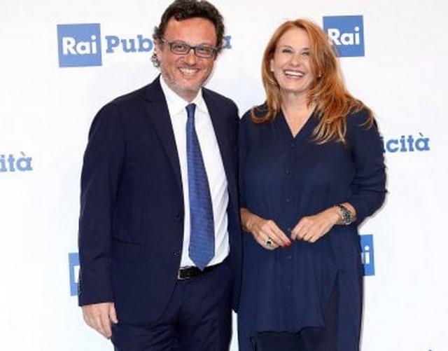 Mario Orfeo con Monica Maggioni