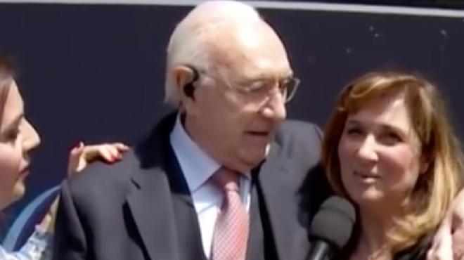 Teresa De Santis con Pippo Baudo