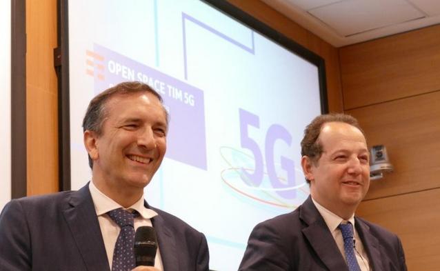 Luigi Gubitosi e, a destra, Carlo Nardello