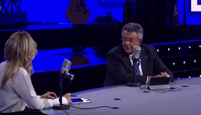 Roberto Sergio alla presentazione dei nuovi palinsesti di Radio Rai