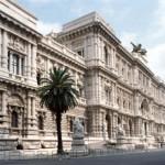 Il palazzo della Cassazione a Roma
