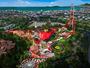 Ecco come sarà il parco Ferrari una volta completato
