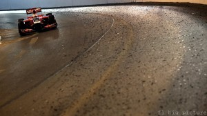 (Il Tunnel di Montecarlo, pochi metri dopo si sono schiantati sia Perez che Rosberg)