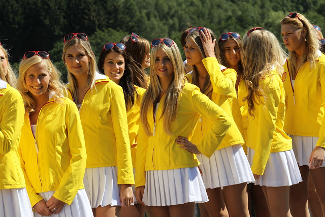 Spa Francorchamps, Belgium, Saturday 1 September 2012 - Grid girls 3